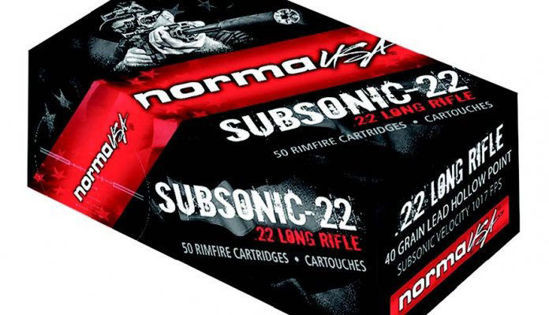 Norma .22lr Subsonic HP
