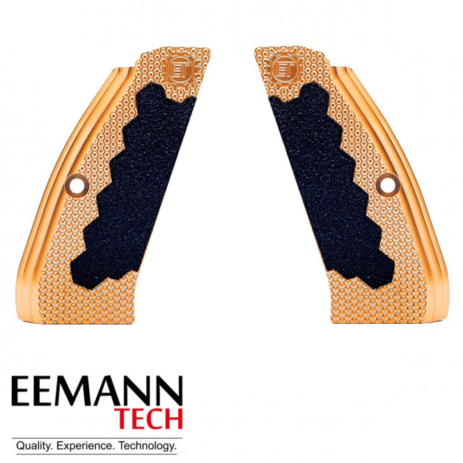 Eemann Tech Eemann Tech Brass Long Grips for CZ75/SH2 Small