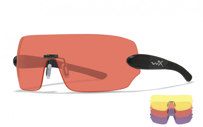 WileyX Detection 3-lens Yell/Or/Purp
