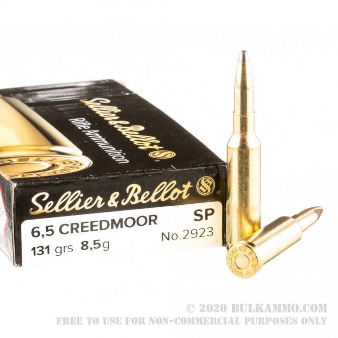 Sellier & Bellot 6,5 Creedmoor 156gr SP