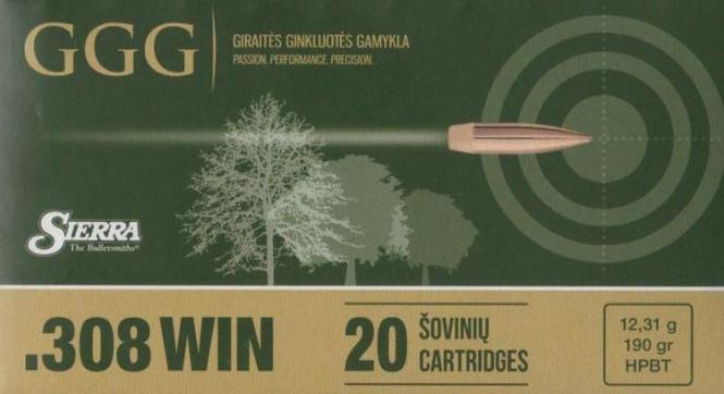 GGG .308 WIN - 190gr HPBT