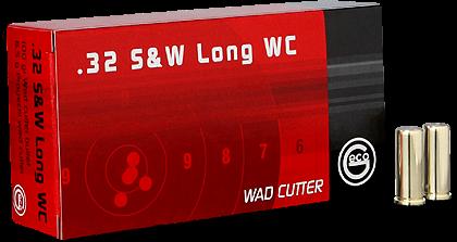 Geco .32S&WL 98gr SWC