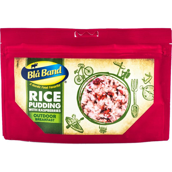 Blå Band Rice Pudding with Raspberrys