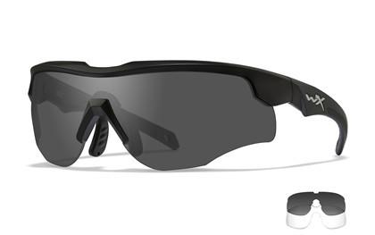 WileyX Rogue Comm Three lens Grey/Clear/Rust