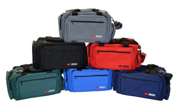 CED Delux Professional Range Bag, Röd