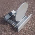 Självresande plåt 20cm Spalla Target Systems