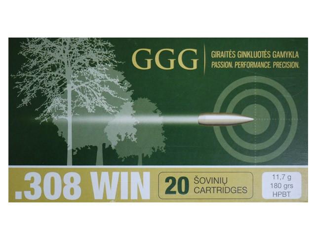 GGG .308 WIN - 180gr HPBT