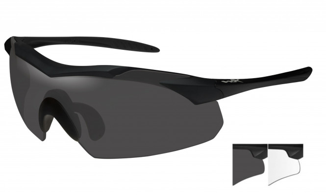 WileyX PT-1 Two Lens Smoke Grey/Clear