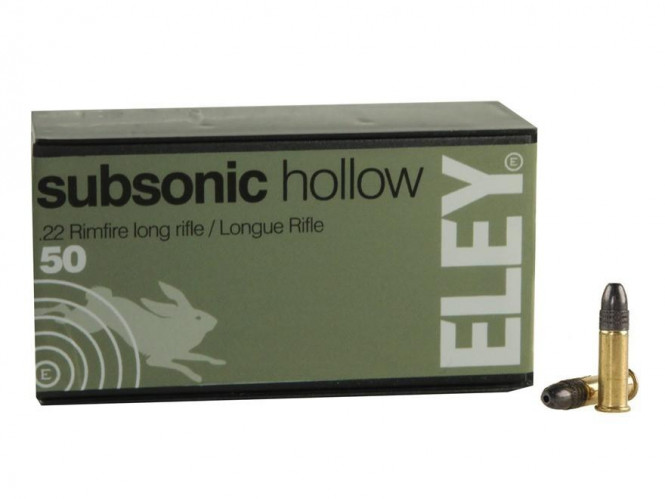 Eley Subsonic Hollow .22lr