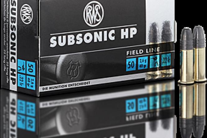 RWS .22lr Subsonic HP