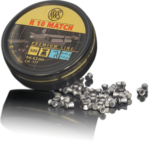 RWS R10 Match 4,5mm 0,45g 500pcs 4,50mm