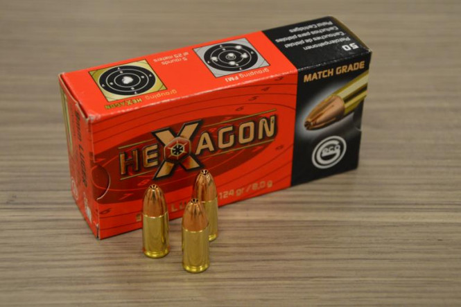 Geco 9mm 124gr Hexagon