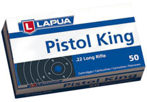 Lapua Pistol King .22 Long Rifle