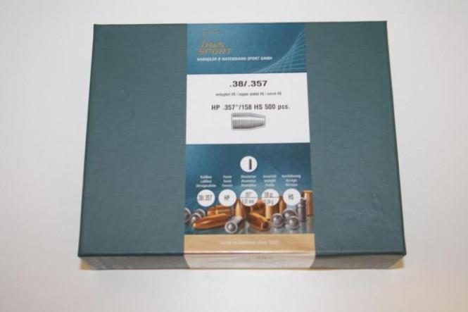 H&N .38/.357 HP 357/158 HS 500pcs
