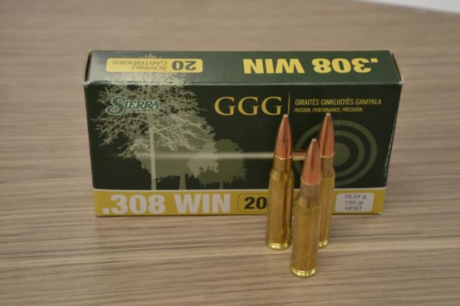 GGG .308 WIN - 155gr HPBT
