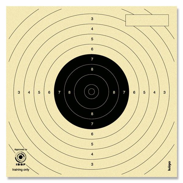 Måltavla Luftpistol 10m - 14x14cm 250st
