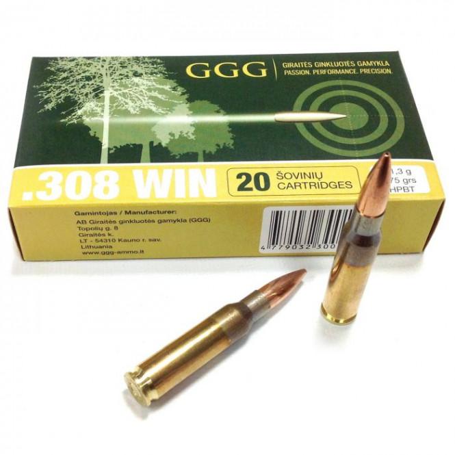 GGG .308 WIN - 175gr HPBT