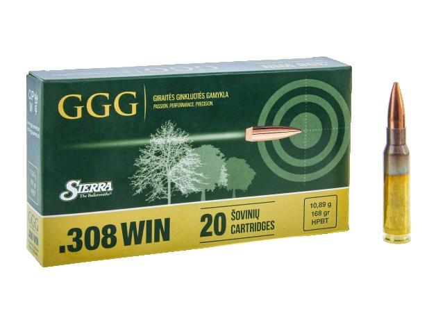 GGG .308 WIN - 168gr HPBT