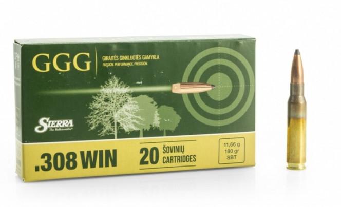 GGG .308 WIN 180gr Sierra GameKing