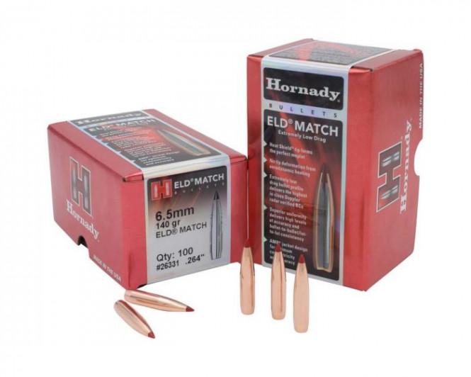 Hornady 6,5 140gr ELD-Match