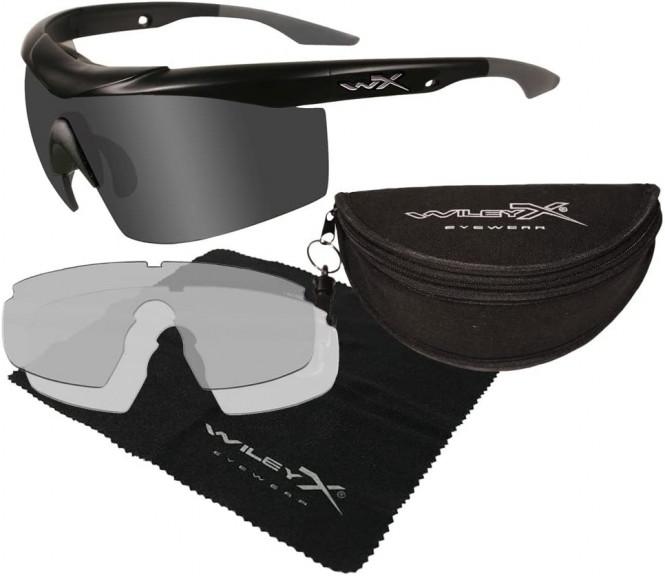 WileyX Talon Two Lens Smoke Grey/Clear