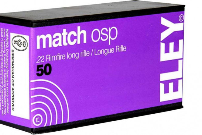 Eley Match Osp .22LR