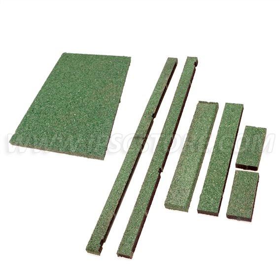 Green Bullettrap Hel matta