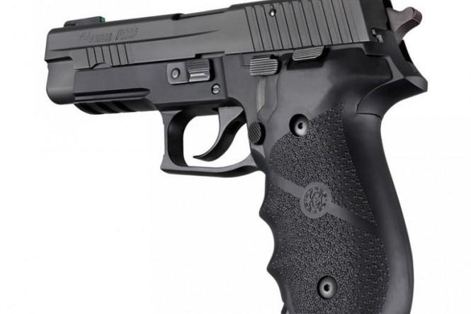 Ruger MK II / MK III Rubber grip with Finger Grooves Black (82000)