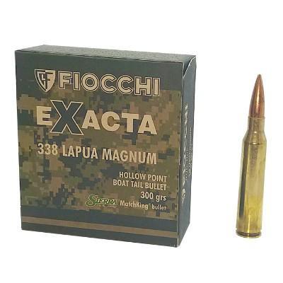 Fiocchi .338 Lapua Magnum 300gr Sierra MatchKing