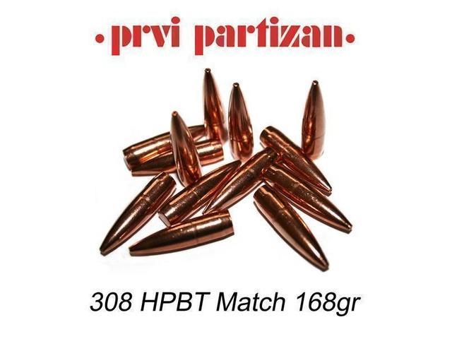 PPU .30 168gr HPBT Match - 50st