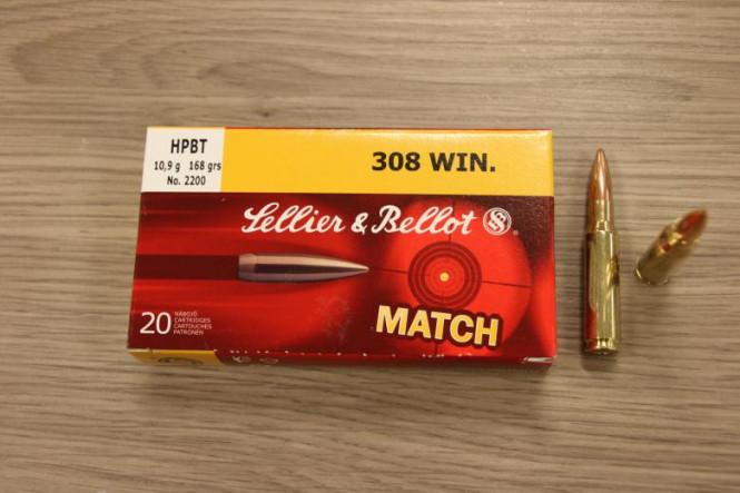 Sellier & bellot 308 Win, Match