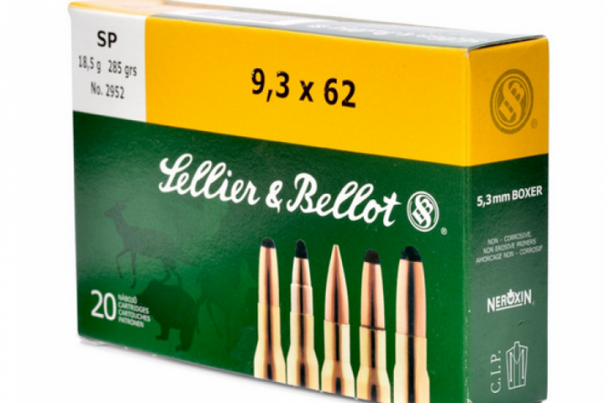 Sellier & Bellot 9,3 x 62