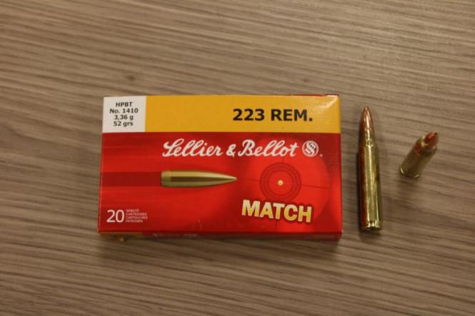 Sellier & Bellot 223 Rem Match