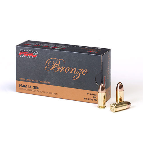 PMC 9mm 115gr FMJ