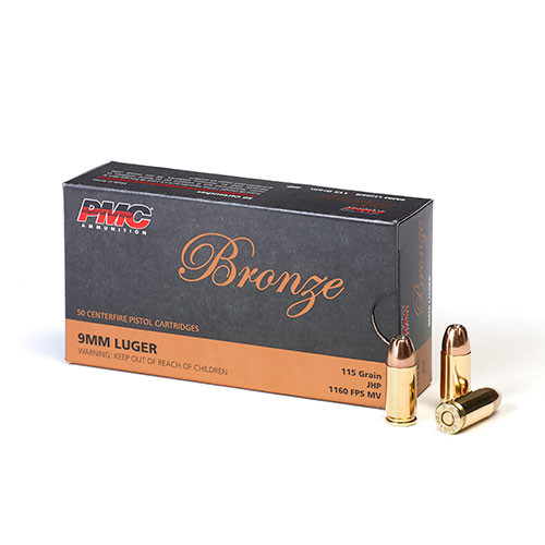 PMC 9mm 115gr JHP