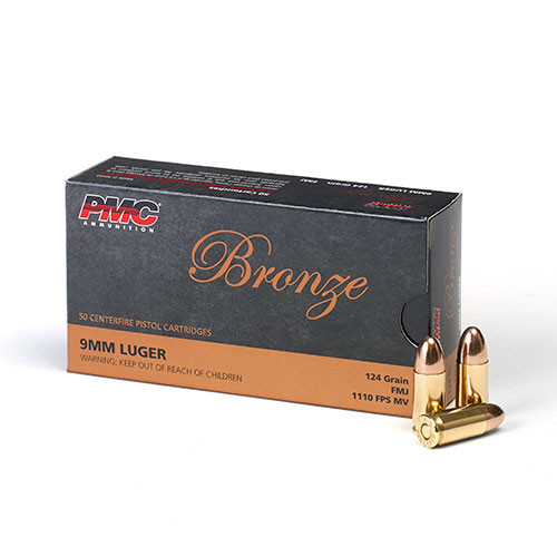 PMC 9mm 124gr FMJ