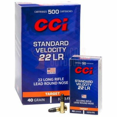CCI Standard .22lr - 50st