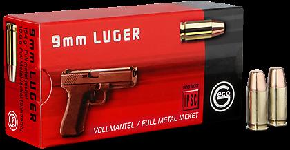 Geco 9mm 154gr FMJ-FP
