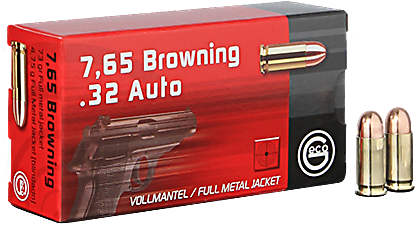 Geco 7,65 Browning .32 Auto 73gr FMJ