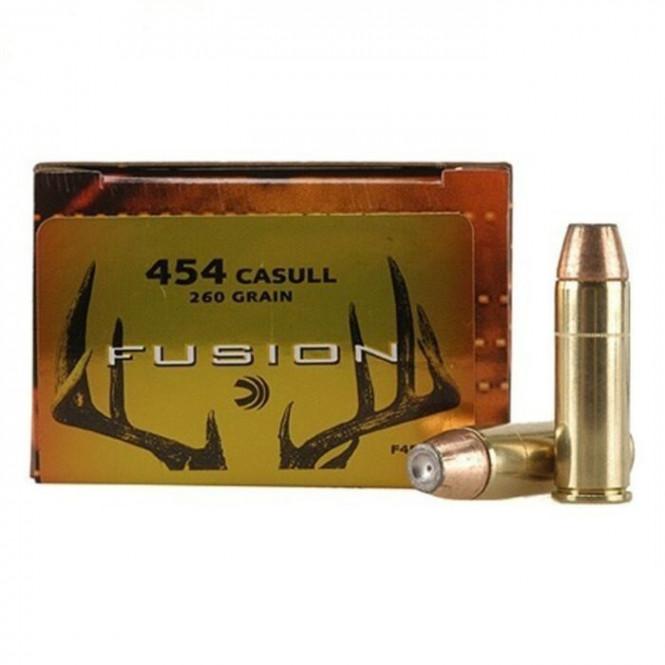 Federal Fusion 454 Casull 260gr