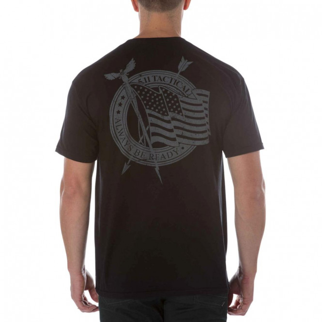 5.11 Flag Waiver Tee M Blk