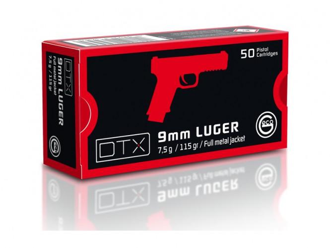 Geco 9mm 115gr FMJ DTX