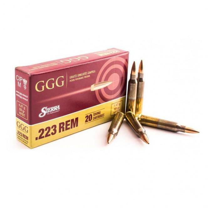 GGG .223 REM 69gr HPBT