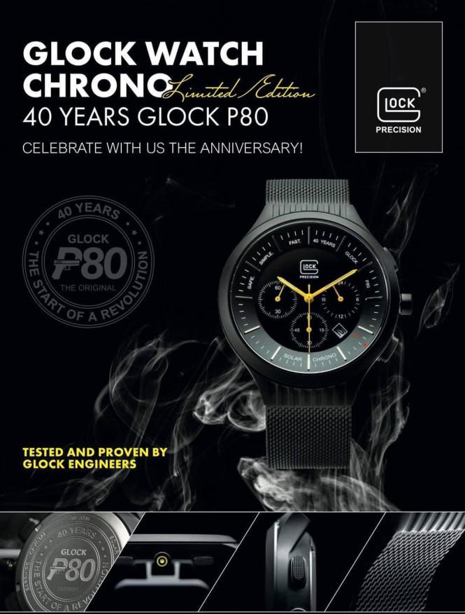 Glock Watch Crono P80, Limited Edition