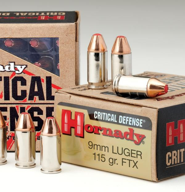 Hornady 9mm 115gr Critical Defence FTX