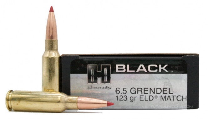Hornady 6,5 Grendel 123gr ELD-Match