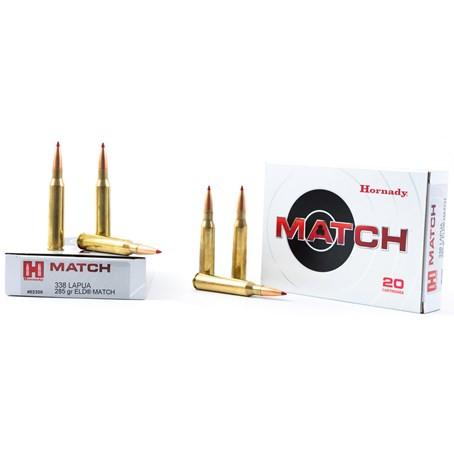 Hornady 338 Lapua Magnum 285gr ELD Match
