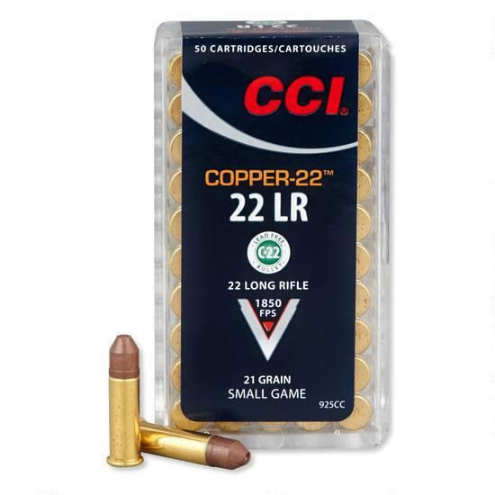 CCI Copper 22lr