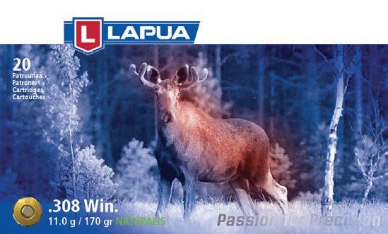 Lapua .308win 11g/170gr Naturalis