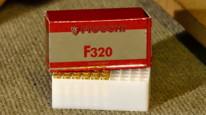Fiocchi F320 .22LR
